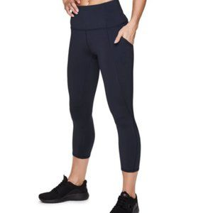 RBX Active Squat Proof High Waist Capri Legging S